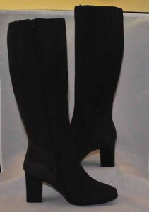 Newport News Suede Knee High Great Bargain Brown Boots