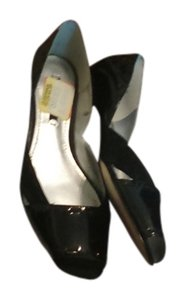Nine West BLACK PATENT LEATHER Flats