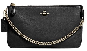 Coach New With Tags Wristlet in Black