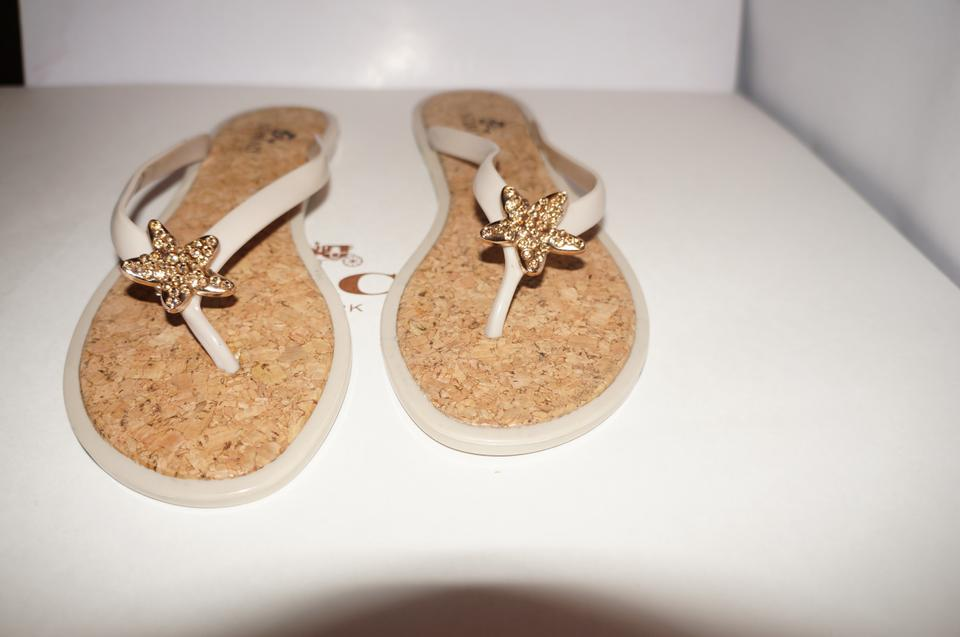7083c5ca994 Nomad Footwear Jelly Coach Jelly Michael Kors Jelly Tory Burch Jelly white  cork Sandals ...