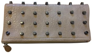 Urban Expressions Studs Chain Taupe Clutch