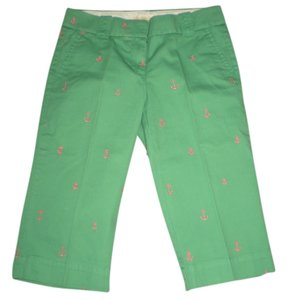 J.Crew J Crew Chino J Crew Capris green with anchors