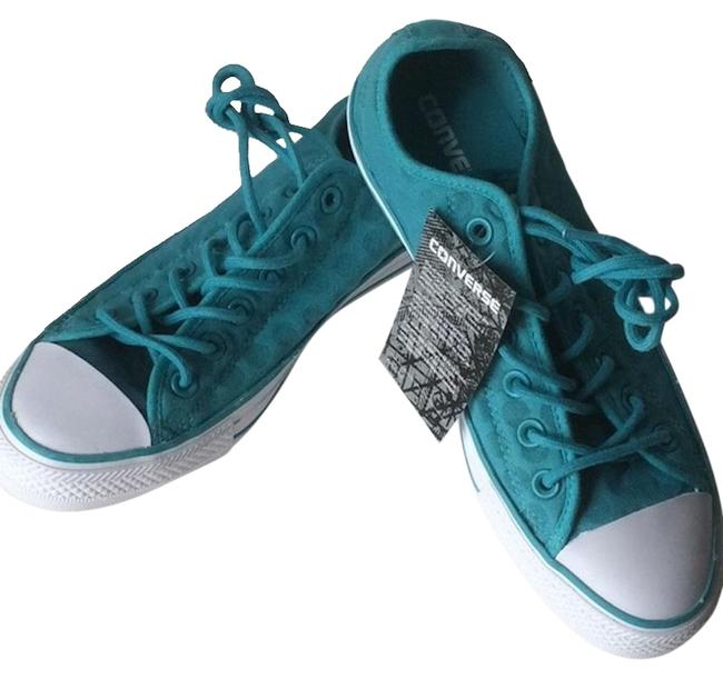 Item - Turquoise Chuck Taylor Oxfords Sneakers Size US 8 Regular (M, B)