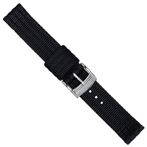 Tommy Bahama Tommy Bahama Watch Band 13mm Black TBNSL14BLK