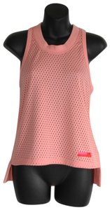 39c2e2a925 adidas By Stella McCartney Pink Mesh Hot Bright Tank Activewear Top Size 0 ( XS)