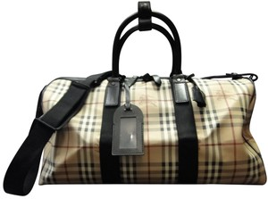 Burberry Hermes Gucci Louis Vuitton Coach Luggage plaid Travel Bag