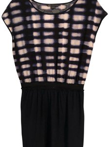 A|X Armani Exchange short dress dark blue on Tradesy