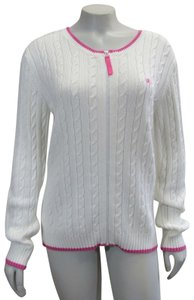 Lilly Pulitzer Cable Knit Zip-up Sweater