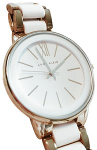 Anne Klein Anne Klein White & gold watch