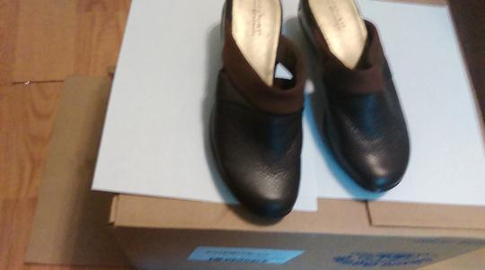 Rockport BROWN Mules
