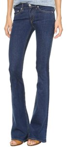 Rag & Bone Flare Leg Jeans-Medium Wash