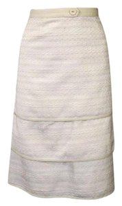 Hilton Hollis Skirt Gold Ivory