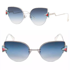 908760f85c Fendi Logo Sunglasses - Up to 70% off at Tradesy