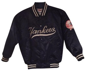 Majestic MLB navy and white Jacket