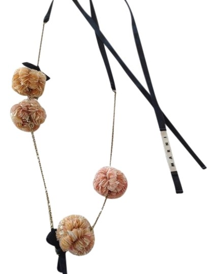 Preload https://img-static.tradesy.com/item/2332969/marni-peach-pom-pom-necklace-0-1-540-540.jpg