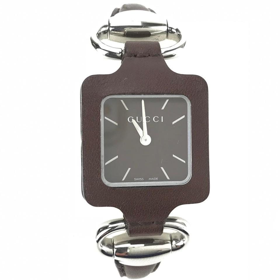2d82acfb19b Gucci GUCCI Women s Special Edition Lady Club Stainless Leather Watch Image  0 ...