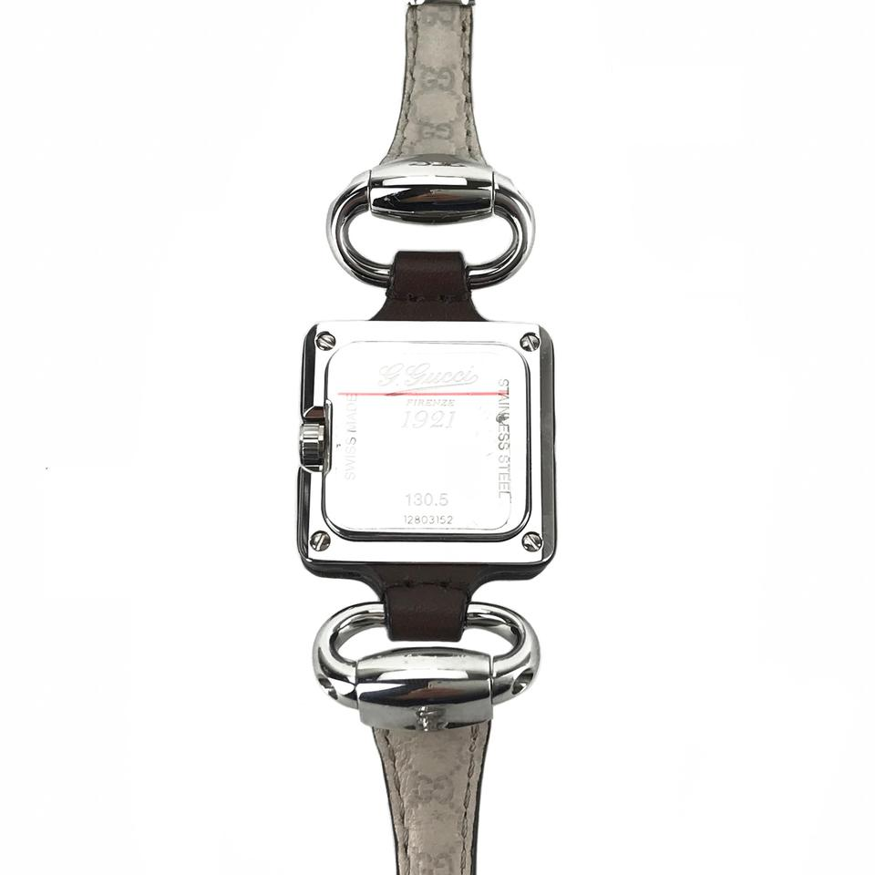 ac1b91891c0 Gucci GUCCI Women s Special Edition Lady Club Stainless Leather Watch Image  8. 123456789