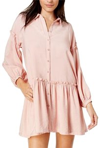 Free People short dress Peach Drop-waist on Tradesy