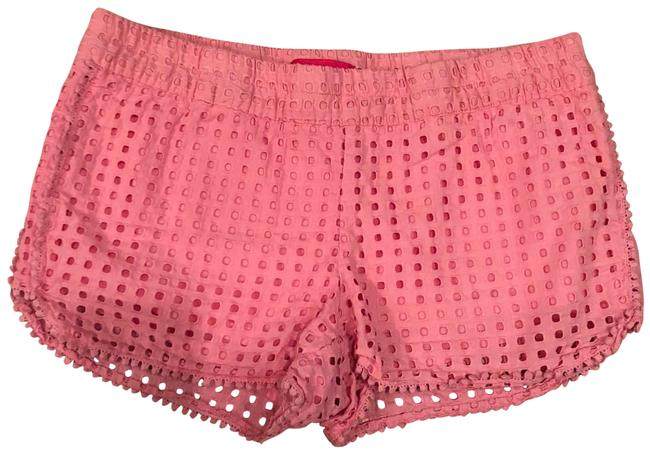 Preload https://img-static.tradesy.com/item/23329941/lilly-pulitzer-pink-lace-minishort-shorts-size-8-m-29-30-0-1-650-650.jpg