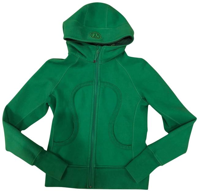 Preload https://item5.tradesy.com/images/lululemon-green-logo-zip-up-with-thumb-holes-activewear-hoodie-size-6-s-23329969-0-1.jpg?width=400&height=650