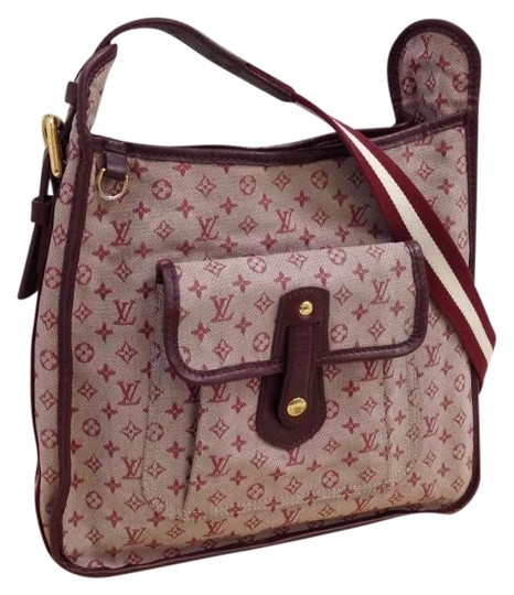 Preload https://img-static.tradesy.com/item/23329994/louis-vuitton-w-mary-kate-cherry-mini-lin-idylle-cross-body-wdustbag-redpink-canvasleather-shoulder-0-6-540-540.jpg