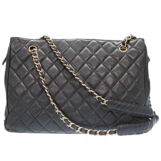 Preload https://item1.tradesy.com/images/chanel-shopping-tote-vintage-quilted-black-lambskin-leather-shoulder-bag-23330080-0-0.jpg?width=440&height=440
