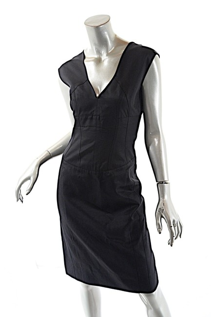 Preload https://item3.tradesy.com/images/narciso-rodriguez-black-cotton-blend-twill-empire-waist-short-casual-dress-size-4-s-23330092-0-0.jpg?width=400&height=650