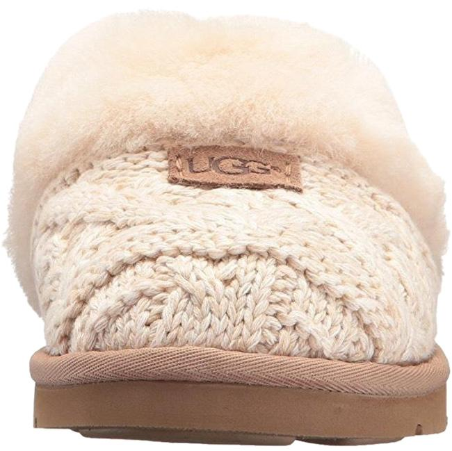 Item - Fawn Cozy Cable Slipper Flats Size US 6 Regular (M, B)