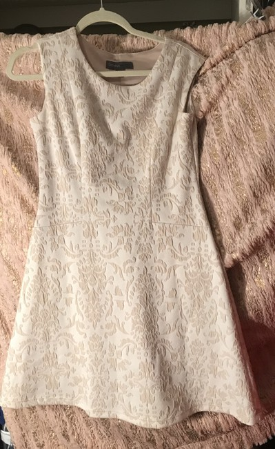 Donna Ricco short dress Cream Chic Business Creaseless Comfortable on Tradesy