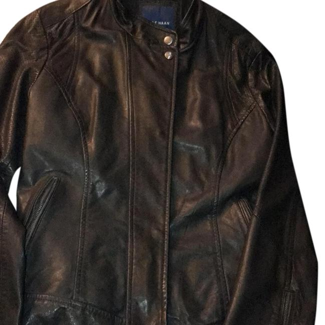 Preload https://item1.tradesy.com/images/cole-haan-leather-jacket-size-8-m-23330165-0-3.jpg?width=400&height=650