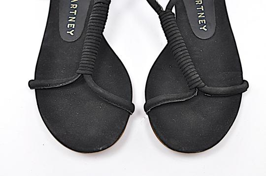Stella McCartney Suede Black Sandals