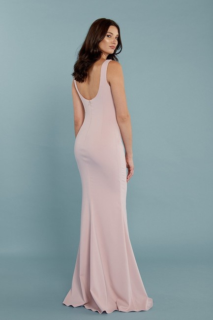 Katie May Full Length Gown Sleeveless Scoop Back Dress