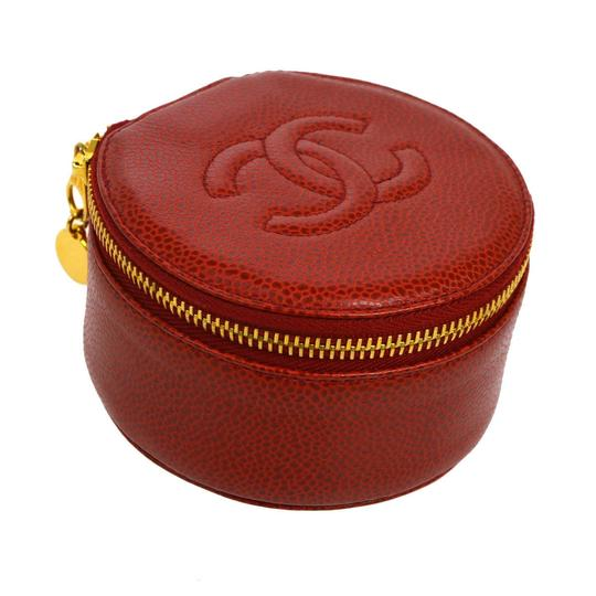 Preload https://item3.tradesy.com/images/chanel-red-caviar-leather-jewelry-case-23330192-0-0.jpg?width=440&height=440