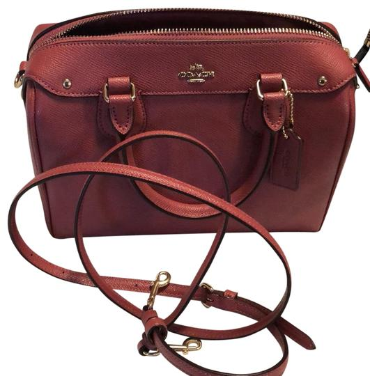 Preload https://item3.tradesy.com/images/coach-pink-leather-satchel-23330207-0-2.jpg?width=440&height=440