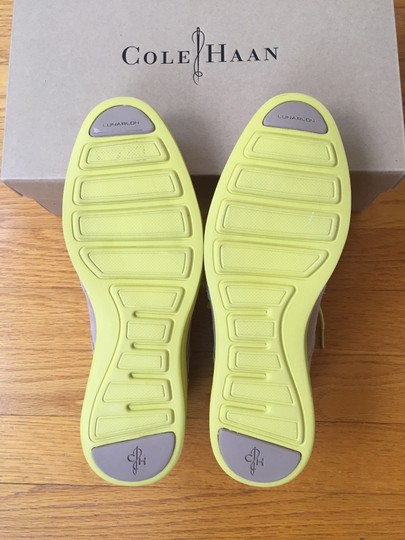 Cole Haan Oxford Maple Sugar/Lime Flats
