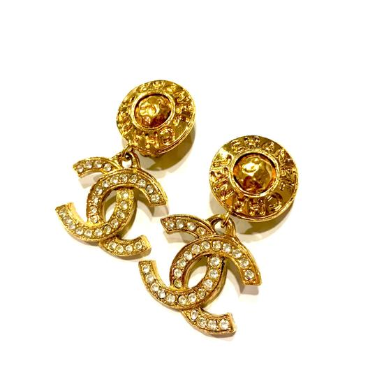 Preload https://item1.tradesy.com/images/chanel-gold-extremely-rare-c-c-coco-rhinestone-double-sided-dangle-earrings-23330250-0-0.jpg?width=440&height=440