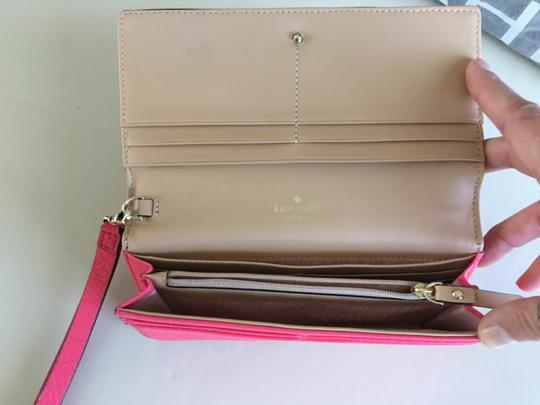 Kate Spade Kate Spade Pink leather Wallet/Wristlet