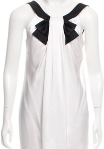 St. John Top Ivory, Black