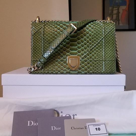 Dior Metallic Diorama Purse Shoulder Bag