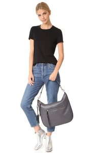 Marc Jacobs Recruit Grained Leather Shoulder Hobo Bag
