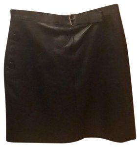 Longchamp Mini Skirt Black