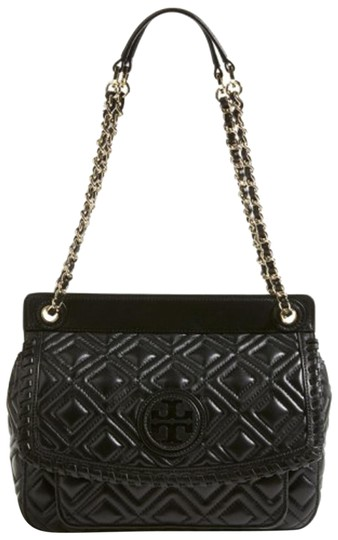 Preload https://img-static.tradesy.com/item/23330335/tory-burch-marion-quilted-small-saddle-black-leather-shoulder-bag-0-3-540-540.jpg