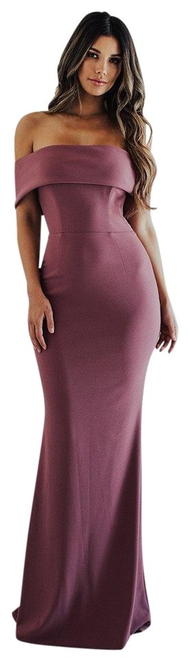a2af2859dd7 Katie May Dusty Rose Legacy Gown Long Formal Dress Size 10 (M) - Tradesy