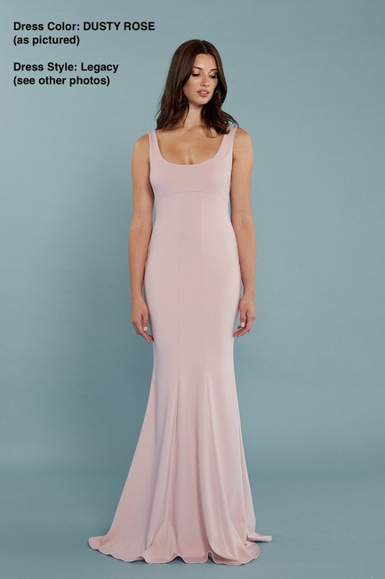 Katie May Full Length Bodycon Crepe Gown Dress