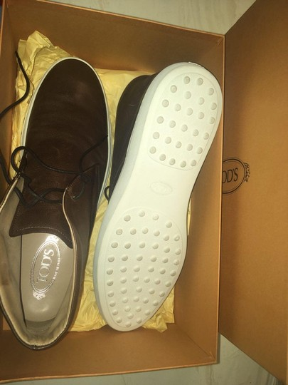 Tod's Leather Me New Brown Formal