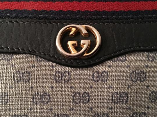 Gucci Vintage Boston Monogram Shoulder Bag