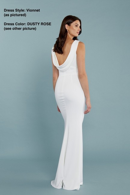 Katie May Scoop Back Full Length Gown Sleeveless Dress