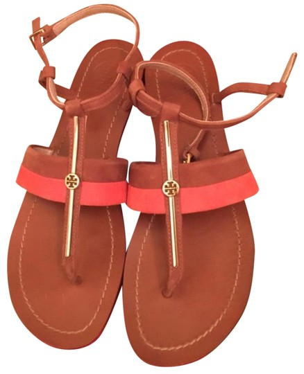 Preload https://item3.tradesy.com/images/tory-burch-tan-and-orange-sandals-size-us-6-narrow-aa-n-23330402-0-1.jpg?width=440&height=440