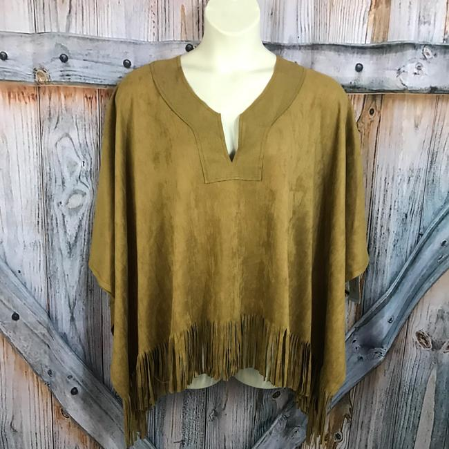 Karen Kane Poncho Top Copper