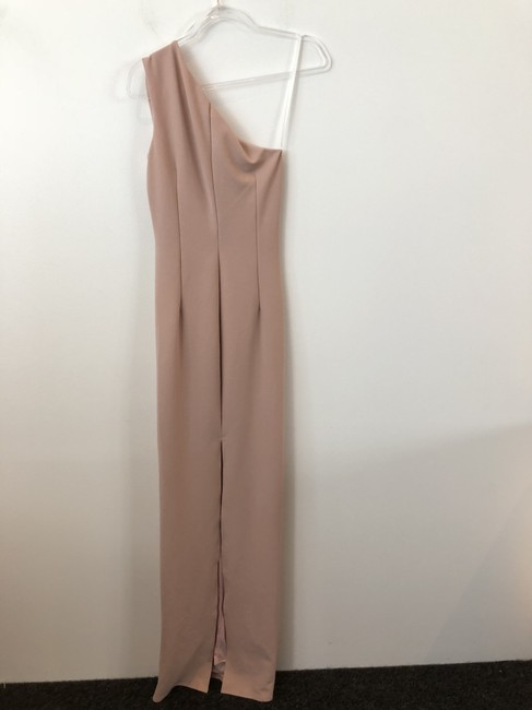 Katie May Full Length One Shoulder Gown Bodycon Dress